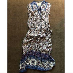 Maison Scotch Long Cotton Dress